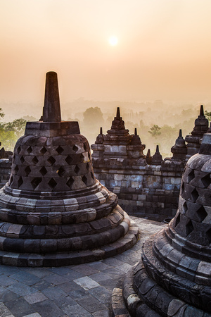 Indonesia - Borobudur sunrise 2