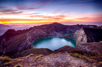 Indonesia, Kelimutu - dawn